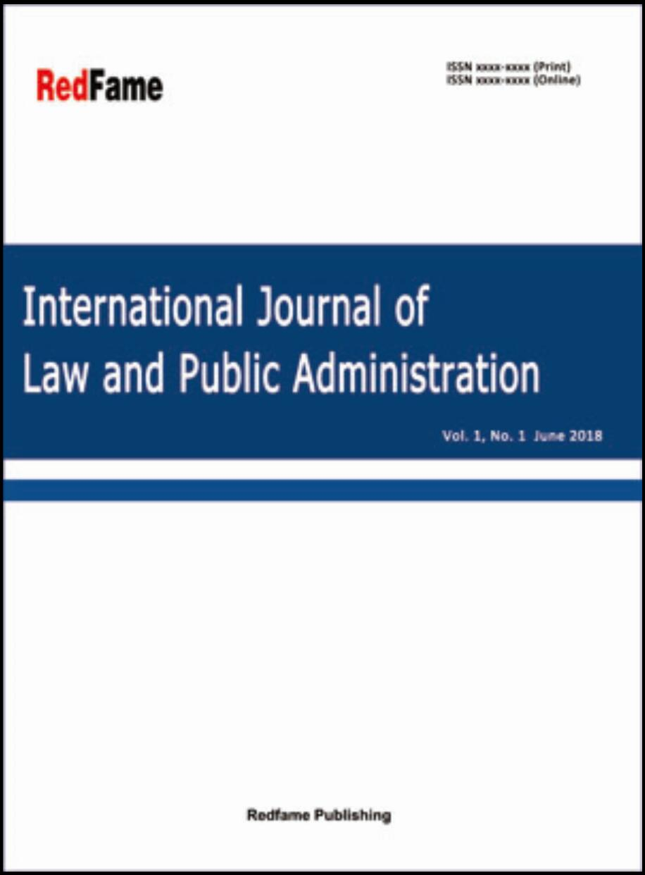 International Journal of Law and Public Administration
